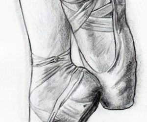 ballet, drawings, and passion image