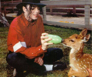 michael jackson, mj, and animal image
