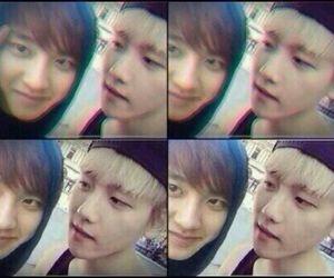 do, baekhyun, and exo image
