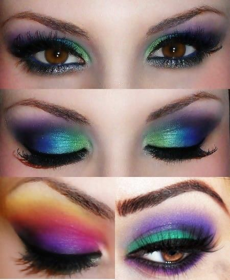 Image About Makeup In Carnaval By Loja Chic Boom - Maquillaje-de-ojos-para-carnaval