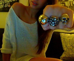 rings, cute, and fashion image