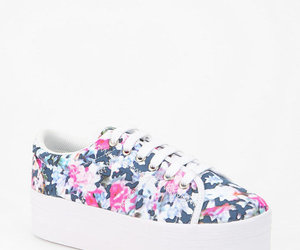 fashion, flowers, and jeffrey campbell image