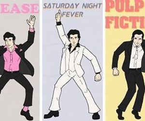 grease and pulp fiction image