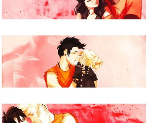 couples, percy jackson, and percabeth image