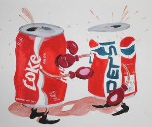 cocacola, coke, and fight image