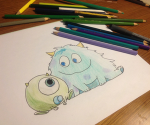 bored, drawing, and cute image