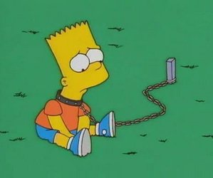 bart and the simpsons image