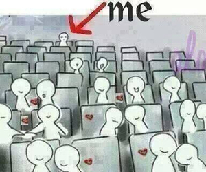 alone, couples, and me image