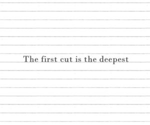 cut, deep, and love image