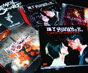 mcr, my chemical romance, and the black parade image