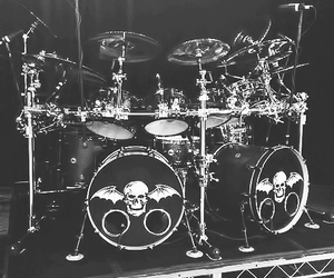 a7x, avenged sevenfold, and drumset image