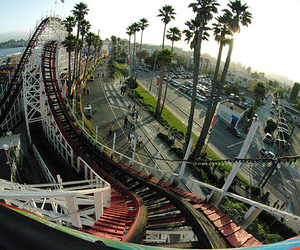 fun, Roller Coaster, and summer day image