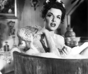 vintage, bath, and Jane Russell image