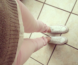 fashion, pink, and converse image
