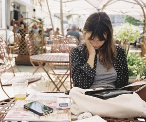 italy, cafe, and reading image