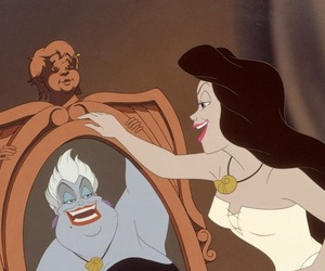disney, ursula, and mermaid image
