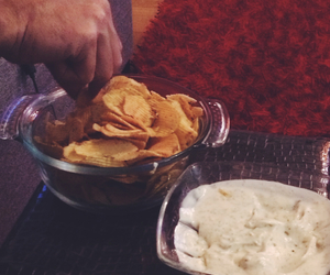 chips, like, and yumy image