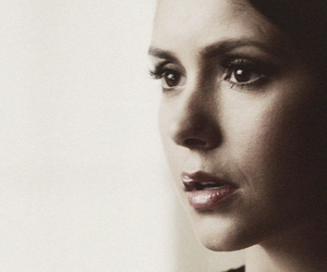 the vampire diaries, Nina Dobrev, and elena gilbert image