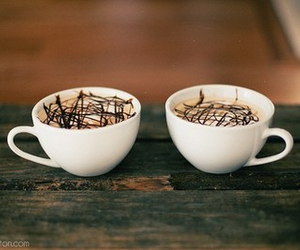 chocolate, yummy, and cofee image