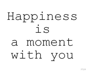 happiness, you, and love image