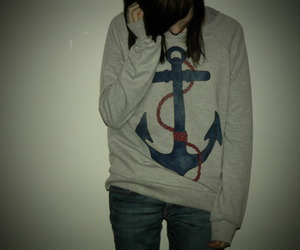 girl and anchor image
