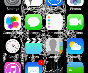 dream catcher, iphone, and apps image