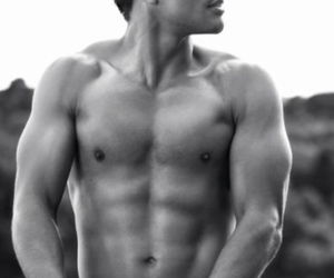 abs, Hot, and model image