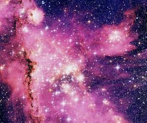 love, Dream, and galaxy image