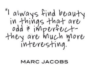 quotes, beauty, and marc jacobs image