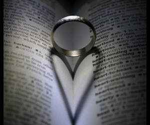 ring, heart, and love image