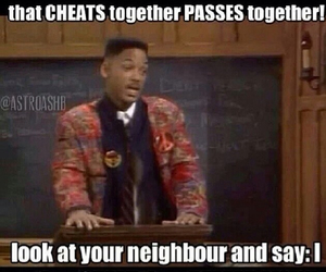 school, funny, and will smith image