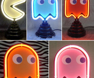 pacman and neon image