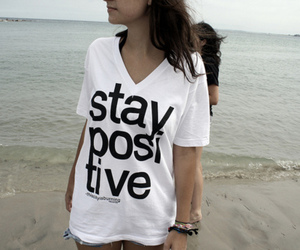 girl, beach, and positive image