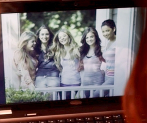 aria montgomery, spencer hastings, and alison dilaurentis image