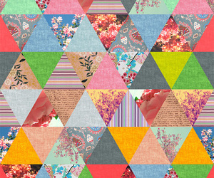 background, color, and triangle image