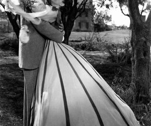 clark gable, Gone with the Wind, and black and white image