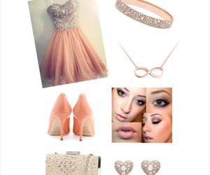 dress, formal, and homecoming image