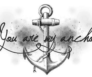 anchor, quote, and text image