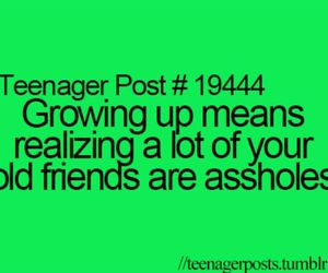 friends, teenager post, and asshole image