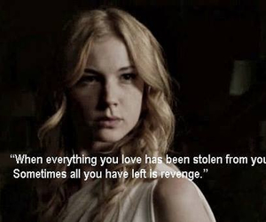 revenge, quote, and emily thorne image