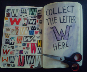 keri smith, letras, and letters image