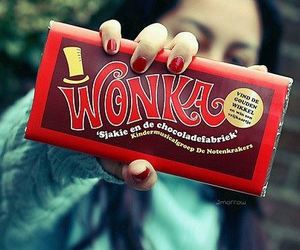 wonka and chocolate image