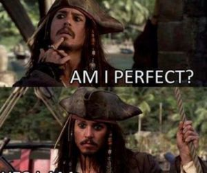 captain jack sparrow, depp, and funny image