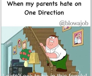 one direction, family, and hate image
