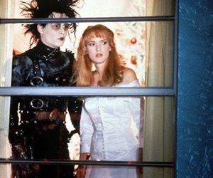 edward scissorhands, johnny depp, and movie image