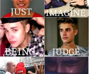 justin bieber, judge, and justin image