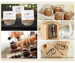 favors, rustic, and wedding image