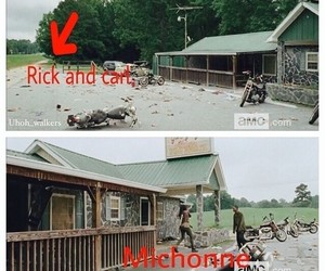 serie, amc, and the walking dead image