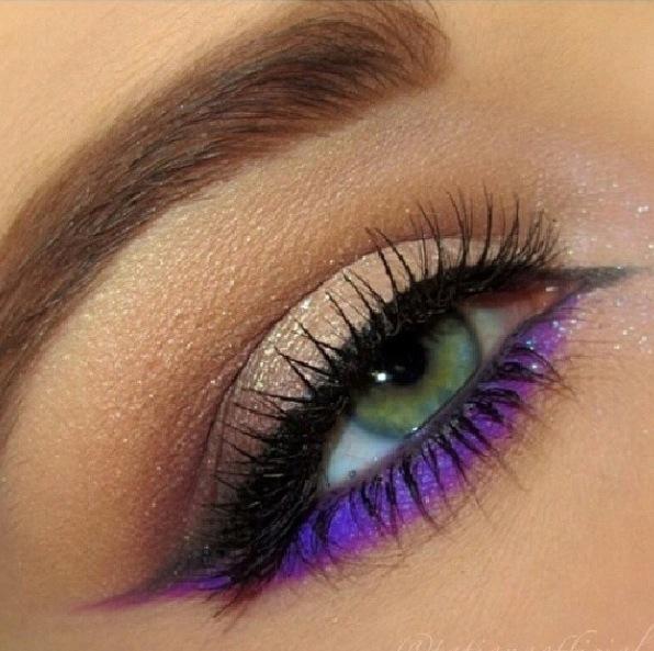 A Beautiful Settle But Wild Eye Makeup On We Heart It