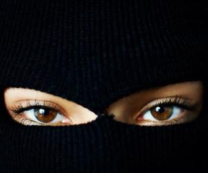 eyelashes, light brown eyes, and eyes image